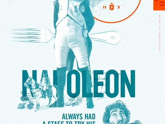 Du Napoleon Oliva Print Ad - Poison