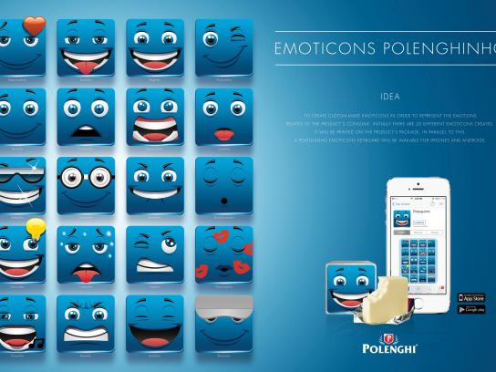 Polenghi Digital Ad -  Emoticons