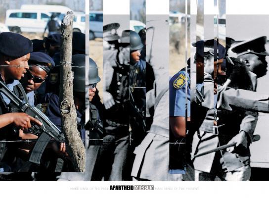 Apartheid Museum Print Ad -  Police