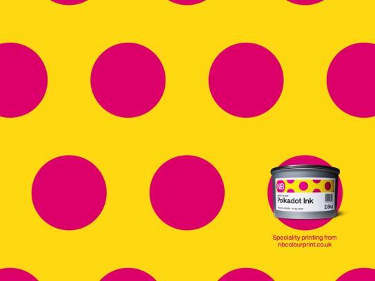 NB Colour Print Print Ad - Polkadot