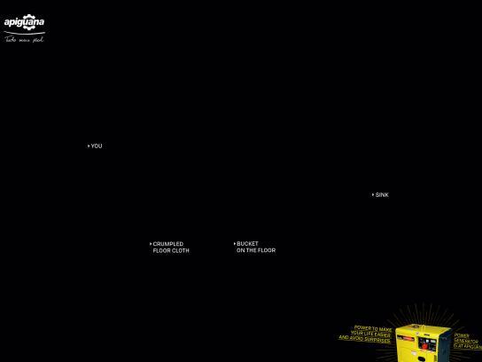 Apiguana Print Ad - Blackout, 3