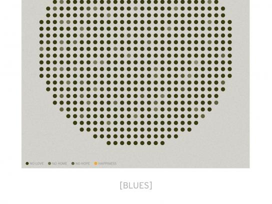 Popakademie Baden Württemberg Print Ad -  Blues