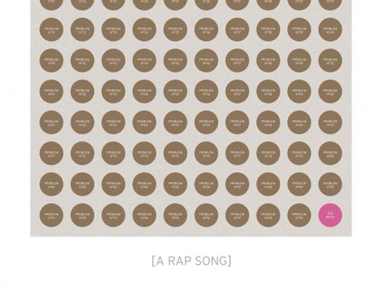 Popakademie Baden Württemberg Print Ad -  Rap song