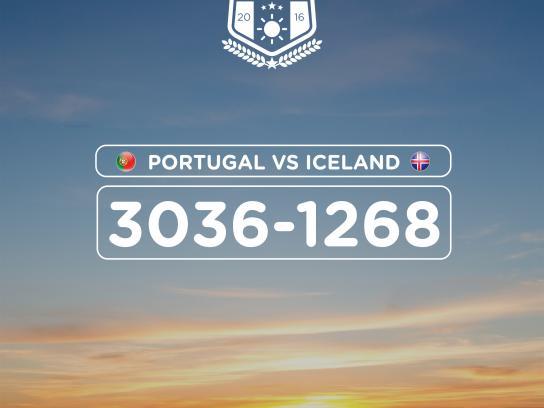 Turismo de Portugal Print Ad - Iceland