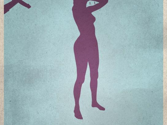 Kino Praha Cinema Print Ad -  Erotic Film Festival, Psycho