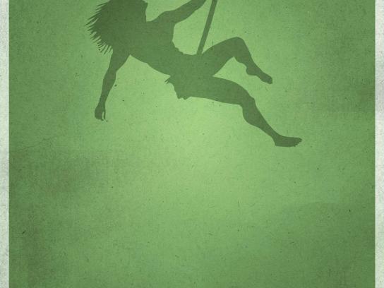 Kino Praha Cinema Print Ad -  Erotic Film Festival, Tarzan