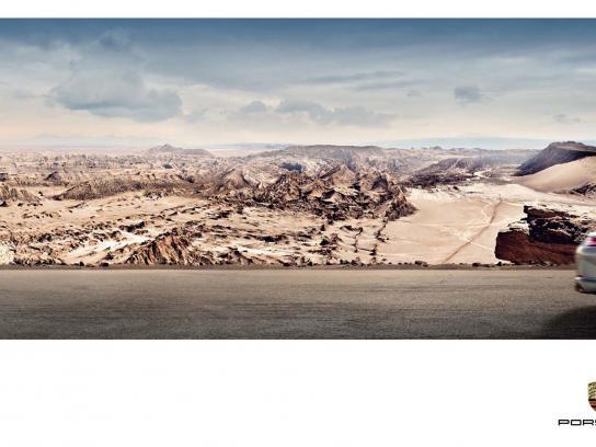 Porsche Print Ad -  Away, 3