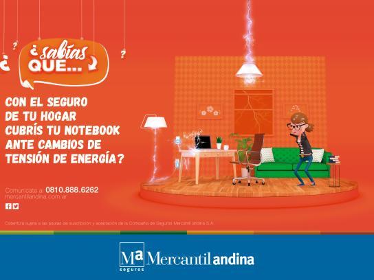 Mercantil Andina Print Ad - Portable