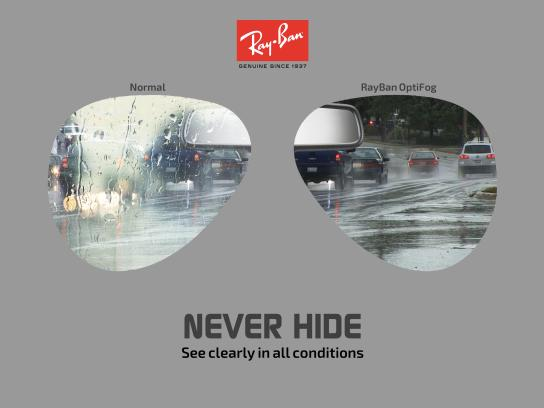 Ray-Ban Print Ad - Never Hide, 4