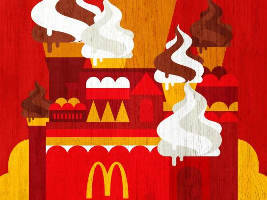 McDonald's Print Ad - World Cup at McDonald's, 1
