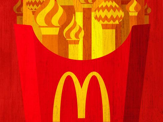McDonald's Print Ad - World Cup at McDonald's, 2