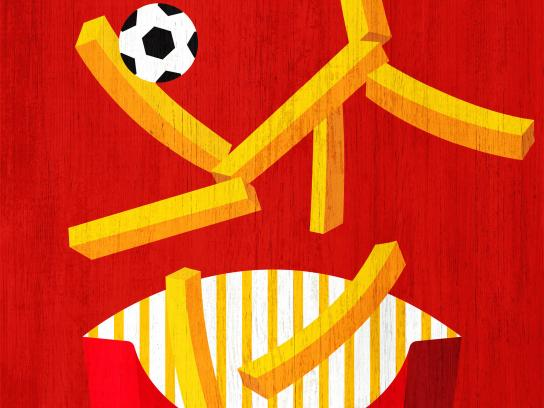 McDonald's Print Ad - World Cup at McDonald's, 4