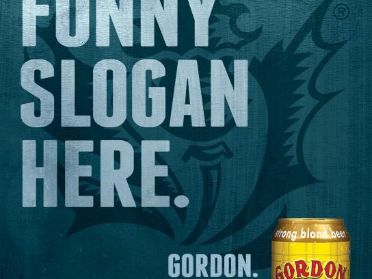 Gordon Finest Beers Outdoor Ad -  Nope