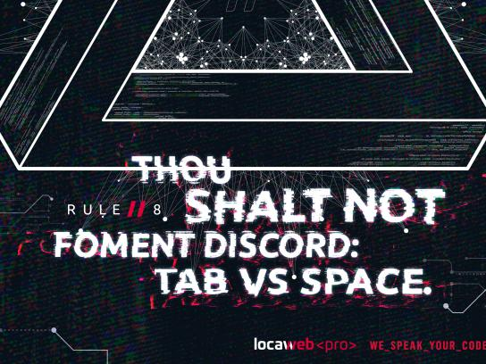 Locaweb Print Ad - Rule 8