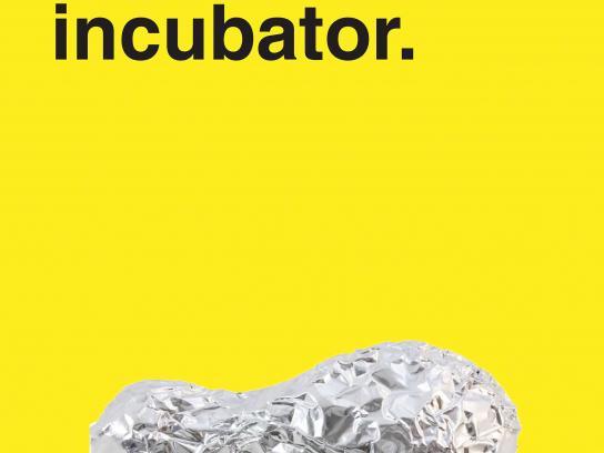 No Name Aluminum Foil Print Ad - Uses - Incubator