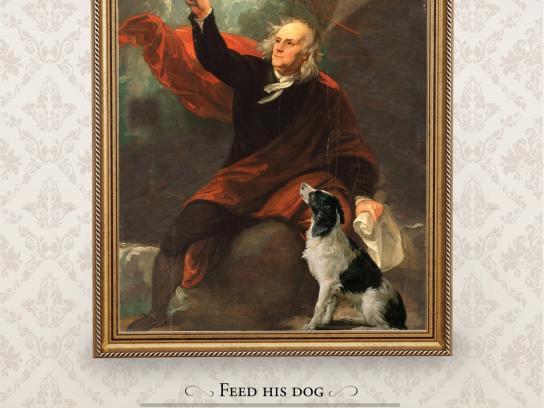 Freshpet Print Ad -  Ben Franklin