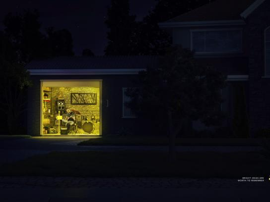 Post-it Brand Print Ad - Bright Ideas, 1
