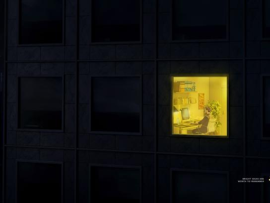 Post-it Brand Print Ad - Bright Ideas, 2