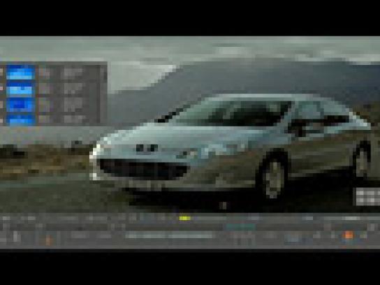 Peugeot Film Ad -  Post production