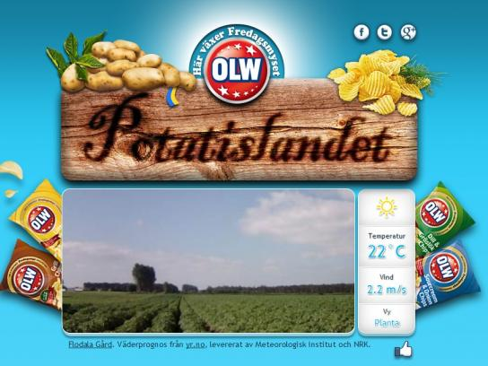 OLW Digital Ad -  Potato-TV