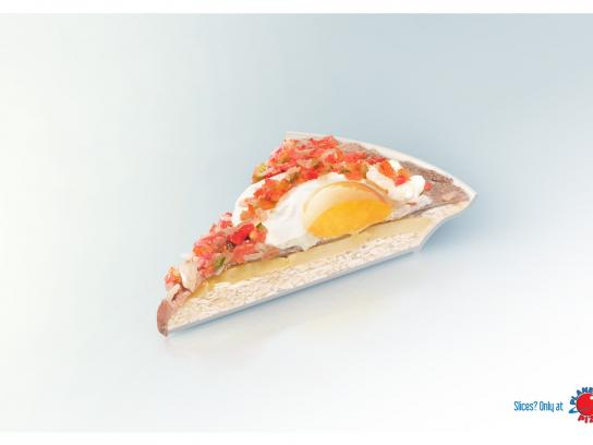 Planet Pizza Print Ad -  Slice, 1