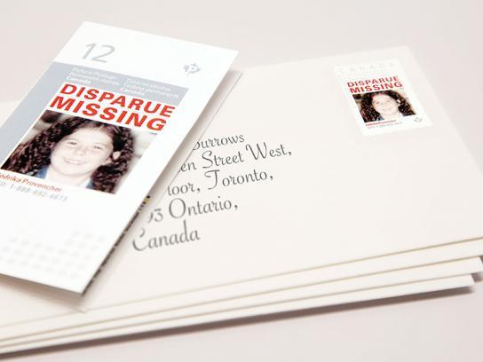 Missing Kids Stamps Digital Ad -  Missing Children's Network