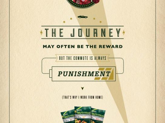 Planters Print Ad -  Journey