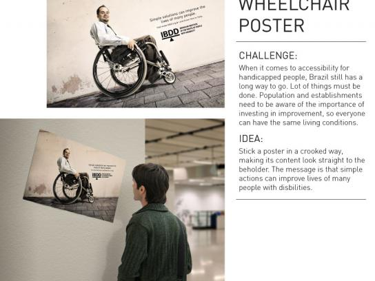 IBDD Outdoor Ad -  Wheelchair