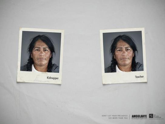Ambulante Print Ad - Teacher