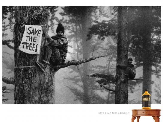 Prematek Print Ad - Protest, 1