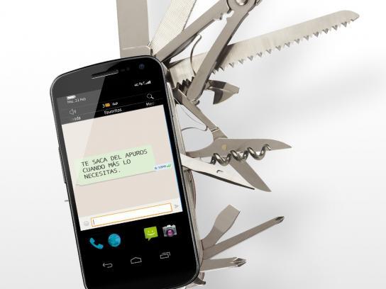 Tigo Print Ad -  Phone, 2