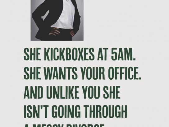 Berocca Print Ad - Kickboxing