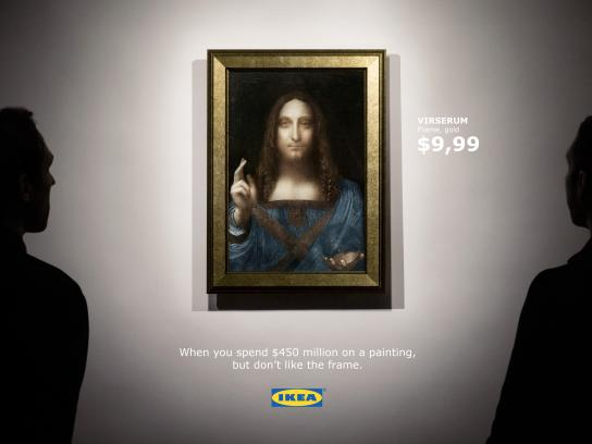 IKEA Digital Ad - Ikea's response to the world's most responsive painting