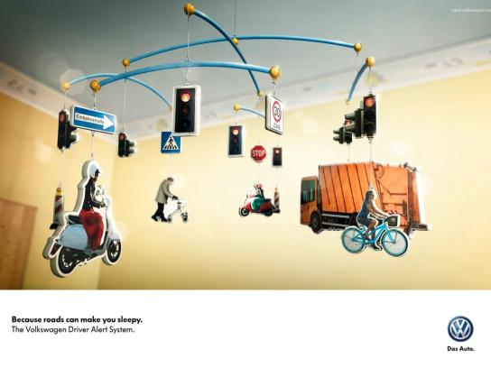 Volkswagen Print Ad -  Tired - City