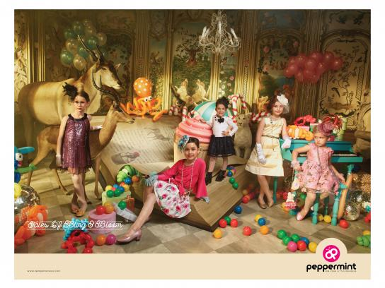 Peppermint Print Ad - Tales of Bling and Bloom