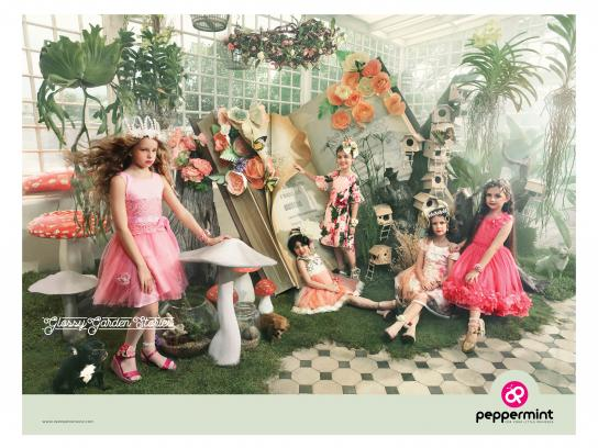 Peppermint Print Ad - Glossy Garden Stories