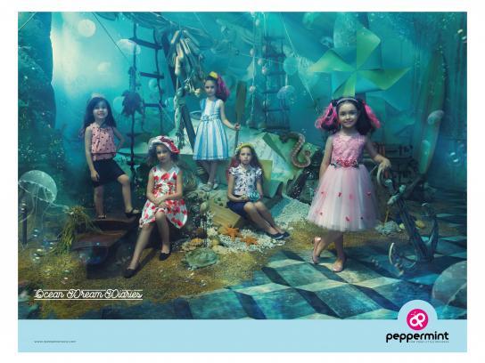 Peppermint Print Ad - Ocean Dream Diaries