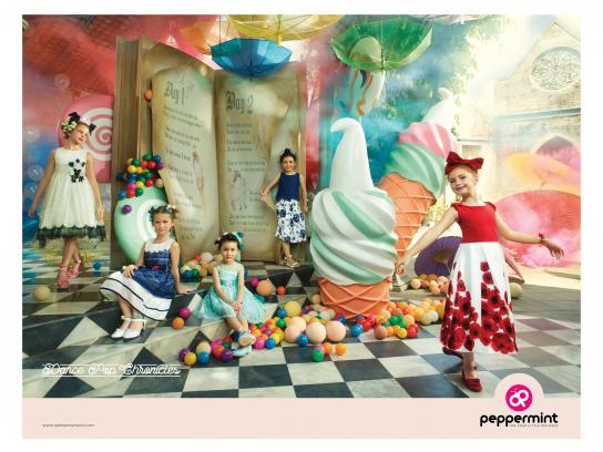 Peppermint Print Ad - Dance Pop Chronicles
