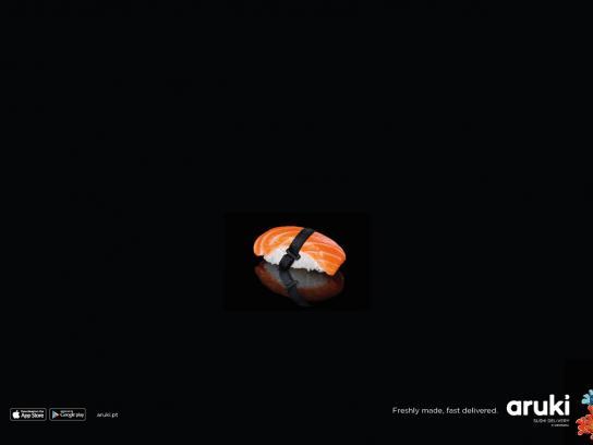 Aruki Print Ad - Nigiri Belt