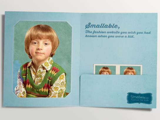 Smallable Print Ad -  Child, 1
