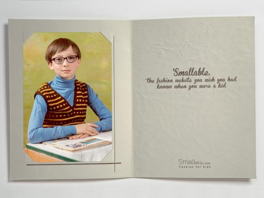 Smallable Print Ad -  Child, 2