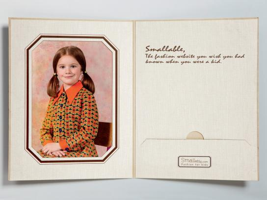 Smallable Print Ad -  Child, 3