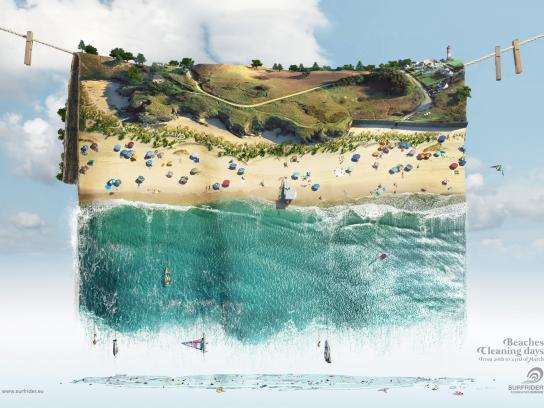 Surfrider Foundation Print Ad -  Carpet, 1