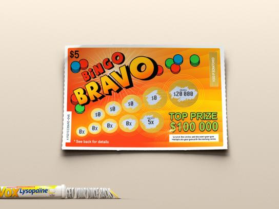 Lysopaine Print Ad -  Bingo