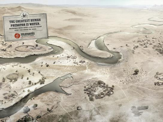 Solidarités International Print Ad -  The River