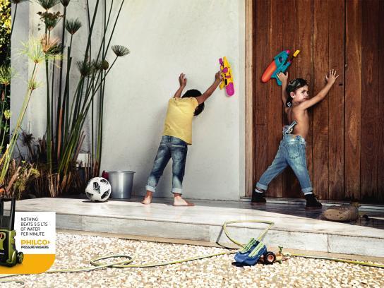 Philco Print Ad - Wall