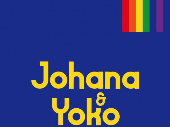 Vodacom Mozambique Fashion Week Print Ad - Pride Couples - Blue
