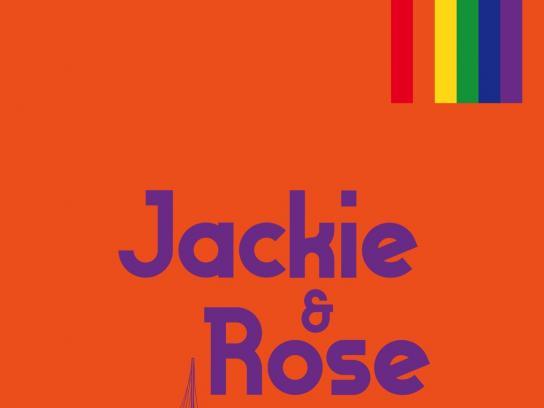 Vodacom Mozambique Fashion Week Print Ad - Pride Couples - Orange