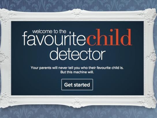 Prime TV Digital Ad -  Favourite Child Detector