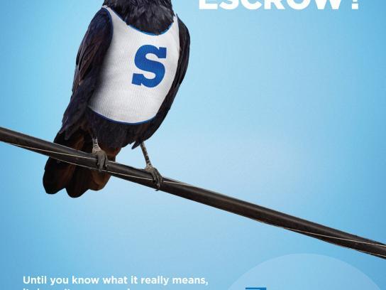 Beneficial Bank Print Ad -  Escrow